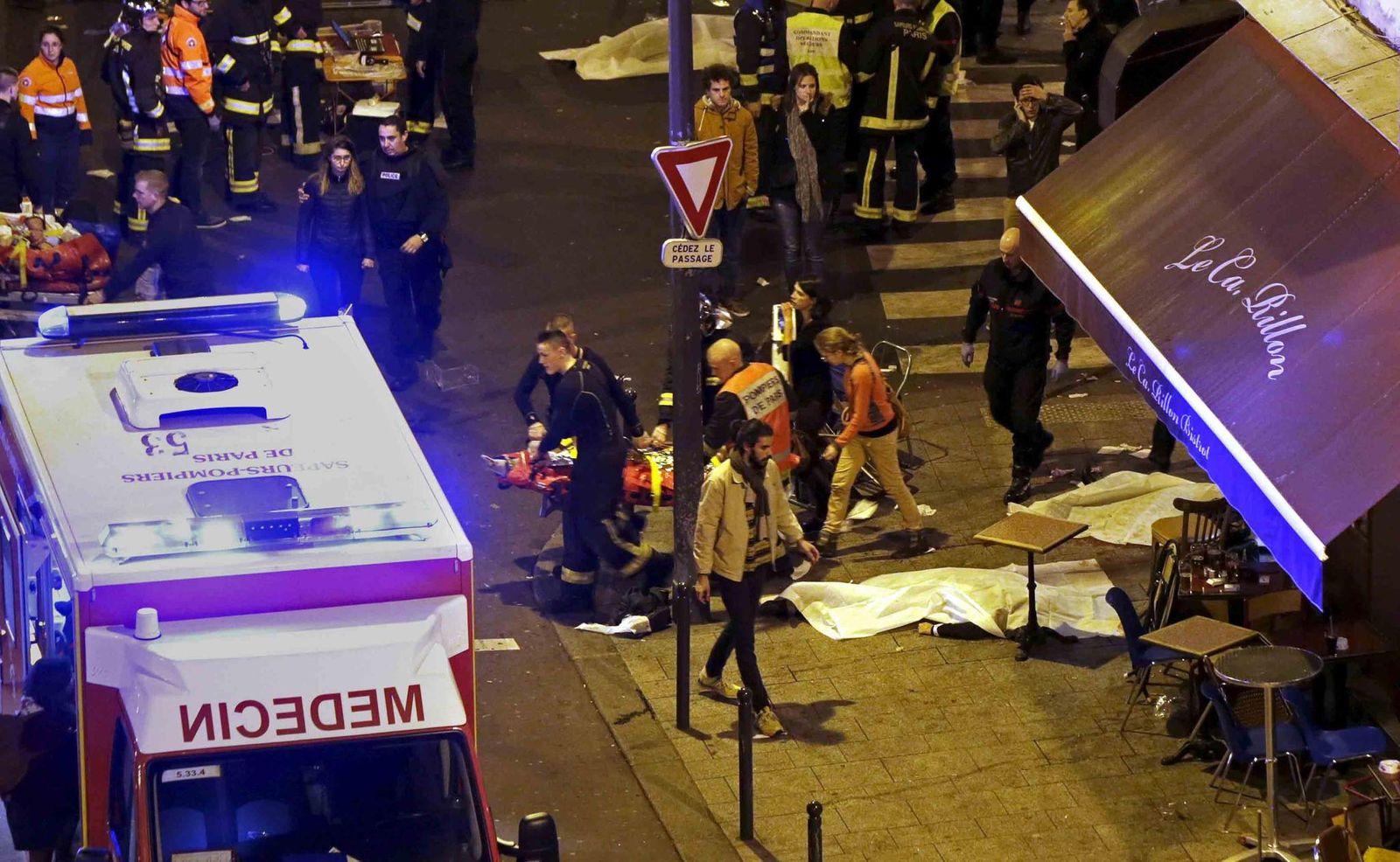 Frankreich / Anschläge / Nahe Bataclan