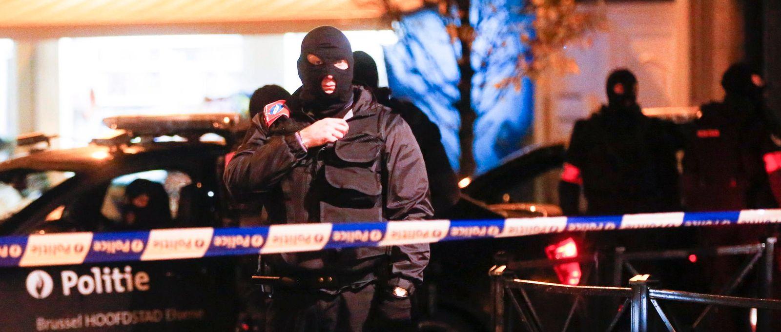 Brüssel Razzien