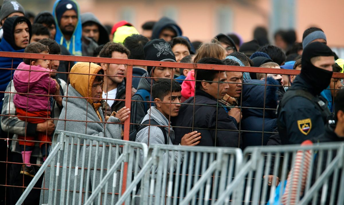 fluechtlinge slowenien dpa antionio bat