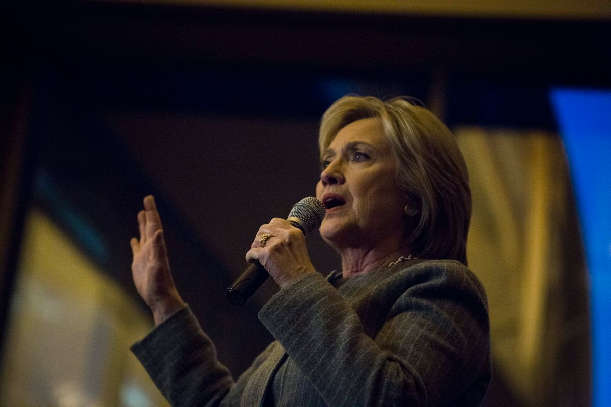 Hillary Clinton Dpa Johntaggart