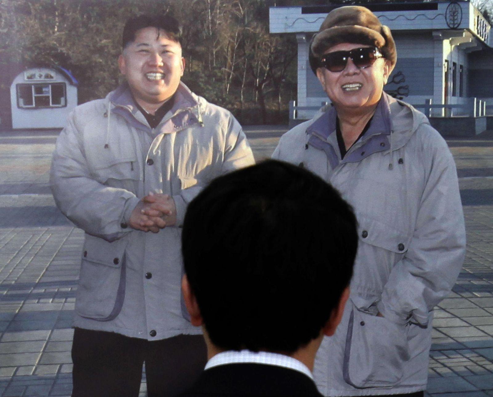 Nordkorea Kim Jong Un / Kim Jong Il