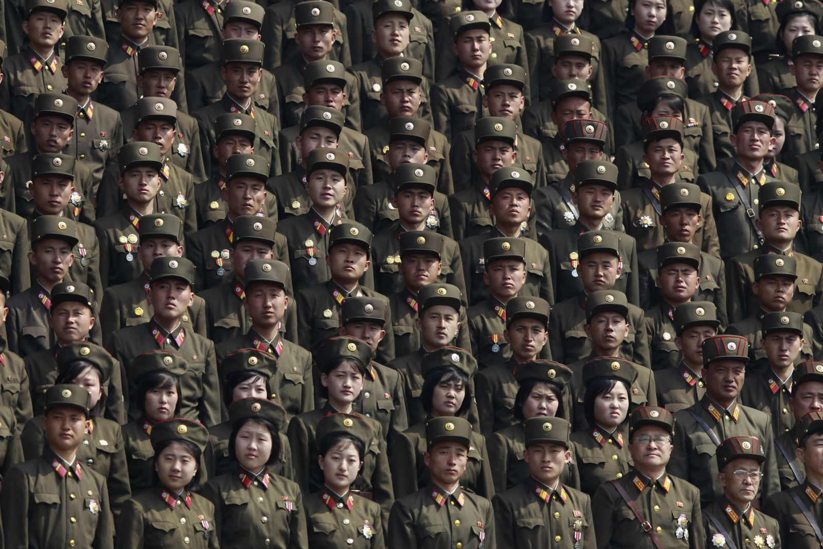 Nordkorea / Soldaten / Kim Jong Un
