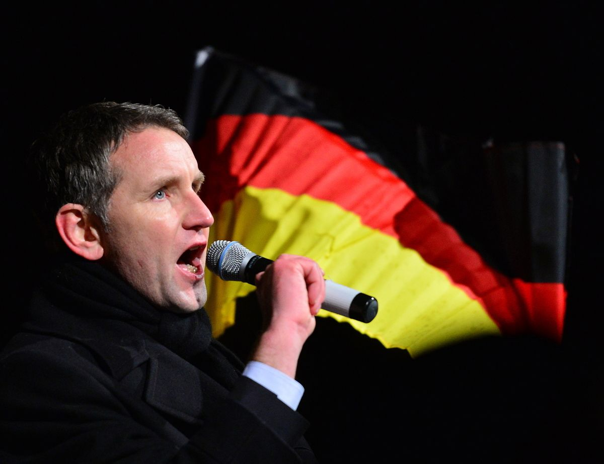 Rechte Bjoern Hoecke Dpa Martinschutt