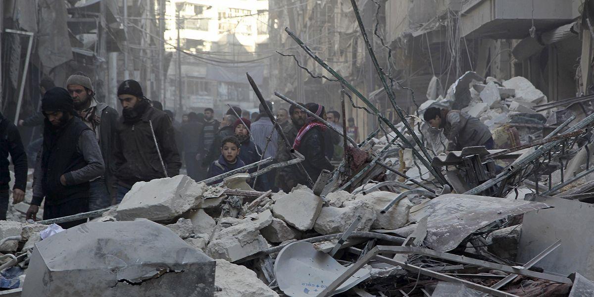 Aleppo Februar 2016 Reuters