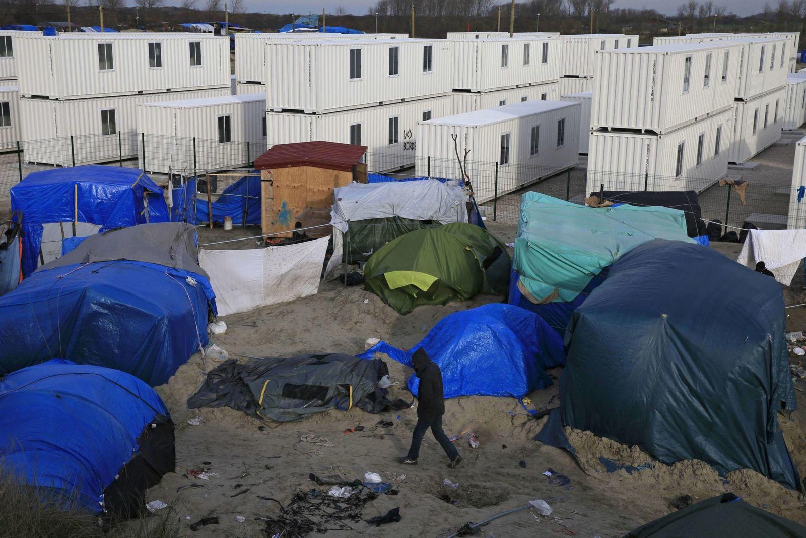 Dschungel Von Calais Reuters Pascal Rossignol