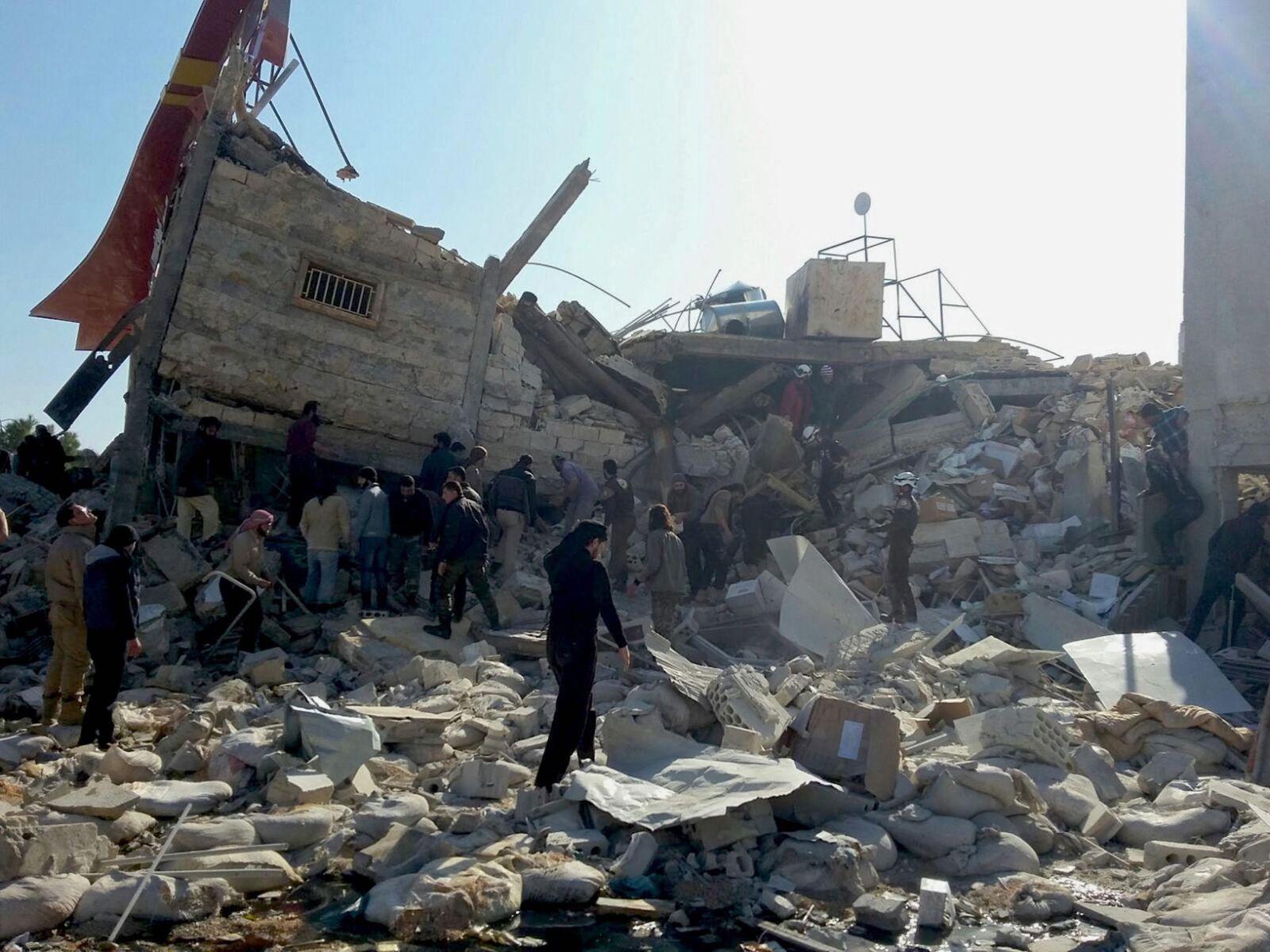Aleppo in Trümmern
