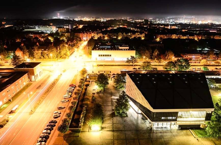 Nachtcampus Uni Kiel