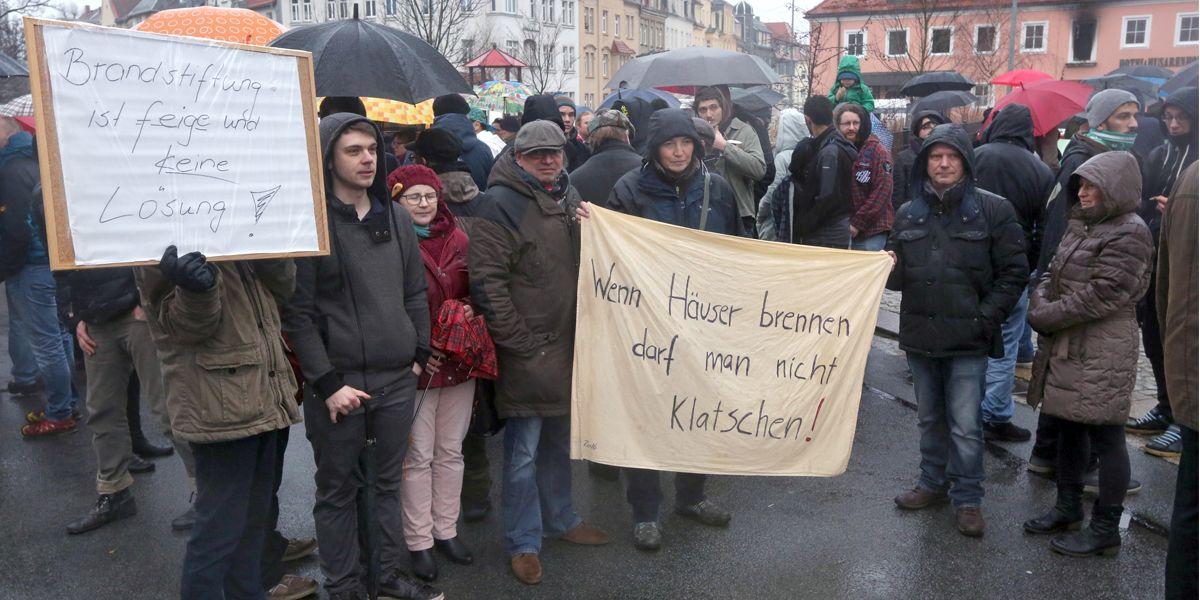 Bautzen Demo Dpa Christian Essler