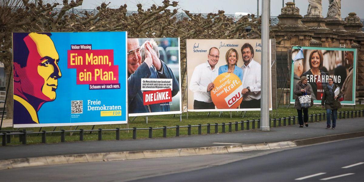 Wahlplakate Mainz Dpa Fredrik Von Erichsen