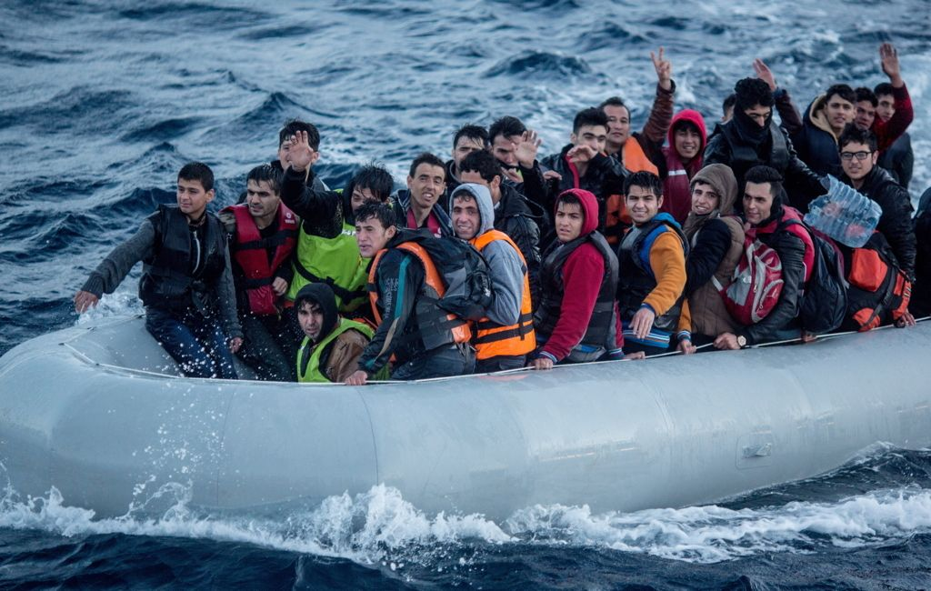 Eu Türkei Flüchtlinge Kay Nietfelddpa