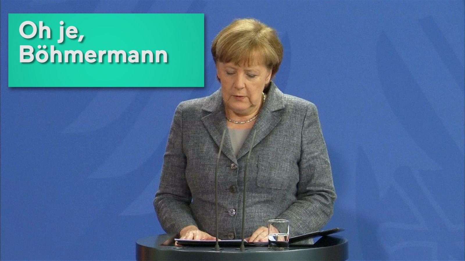 Merkel Oton Böhmermann