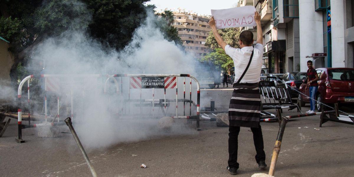 Kairo Protest Dpa