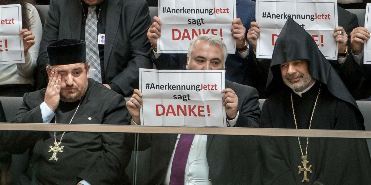 Armenien Bundestag Resolution Dpa Jpg