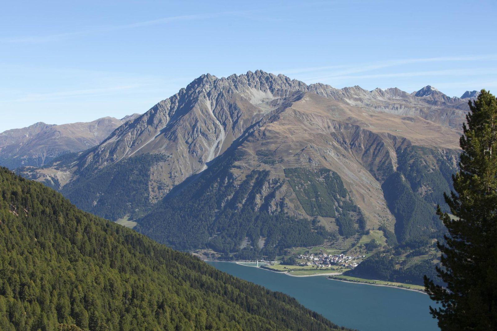 Reschensee Alpen