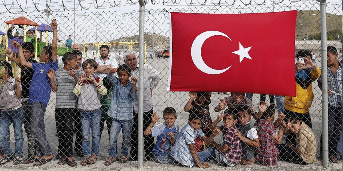Tuerkei Fluechtlinge Epa Sedatsuna
