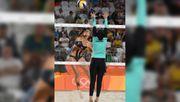 Beachvolleyball bei Olympia: Nerven die knappen Höschen?