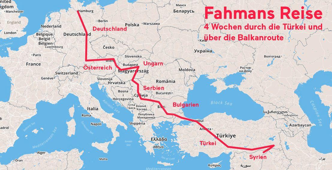 Fahman Fluchtroute