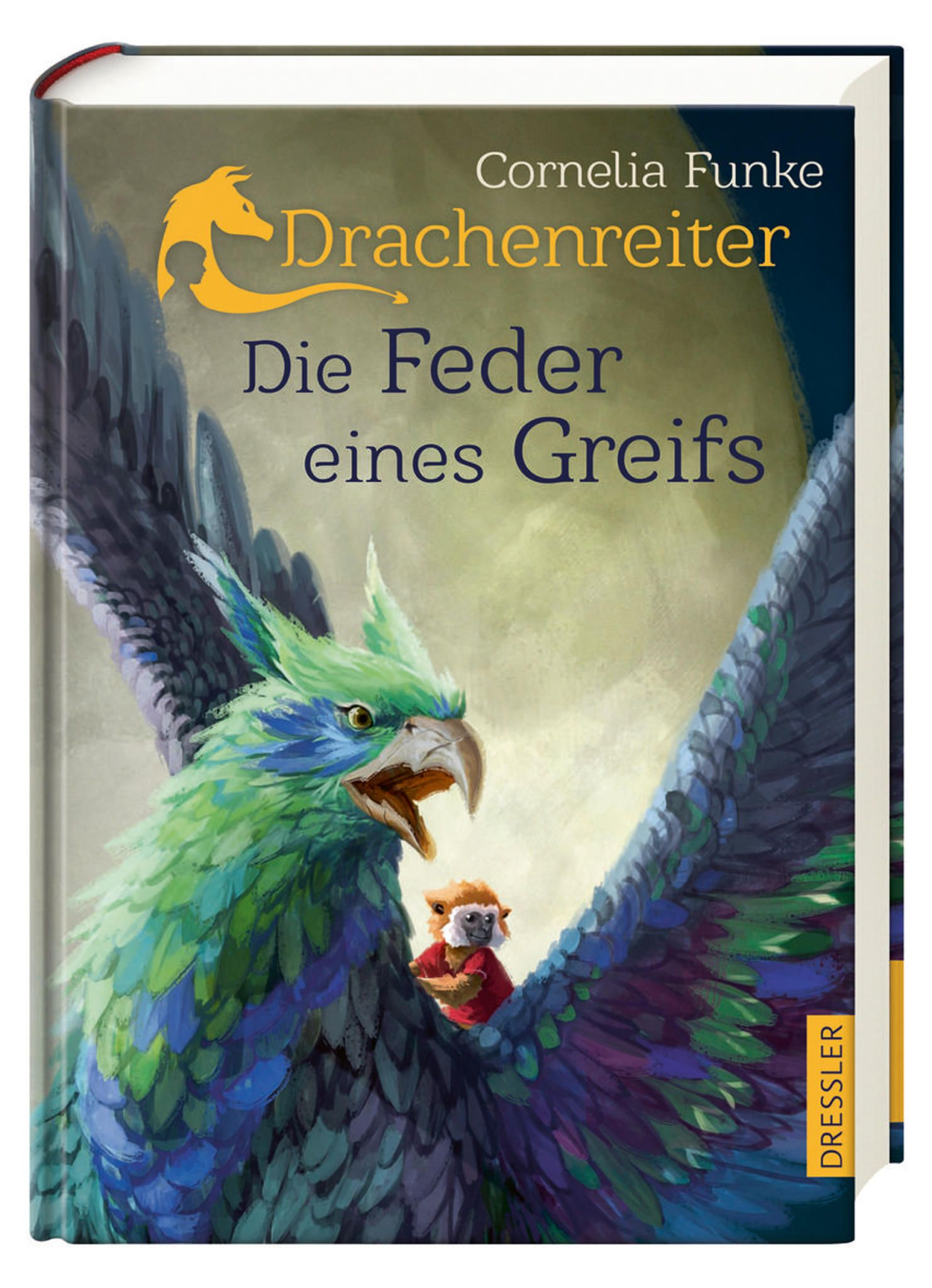 Die Feder Eines Greifs Funke Dpa Handout Dressler Verlag