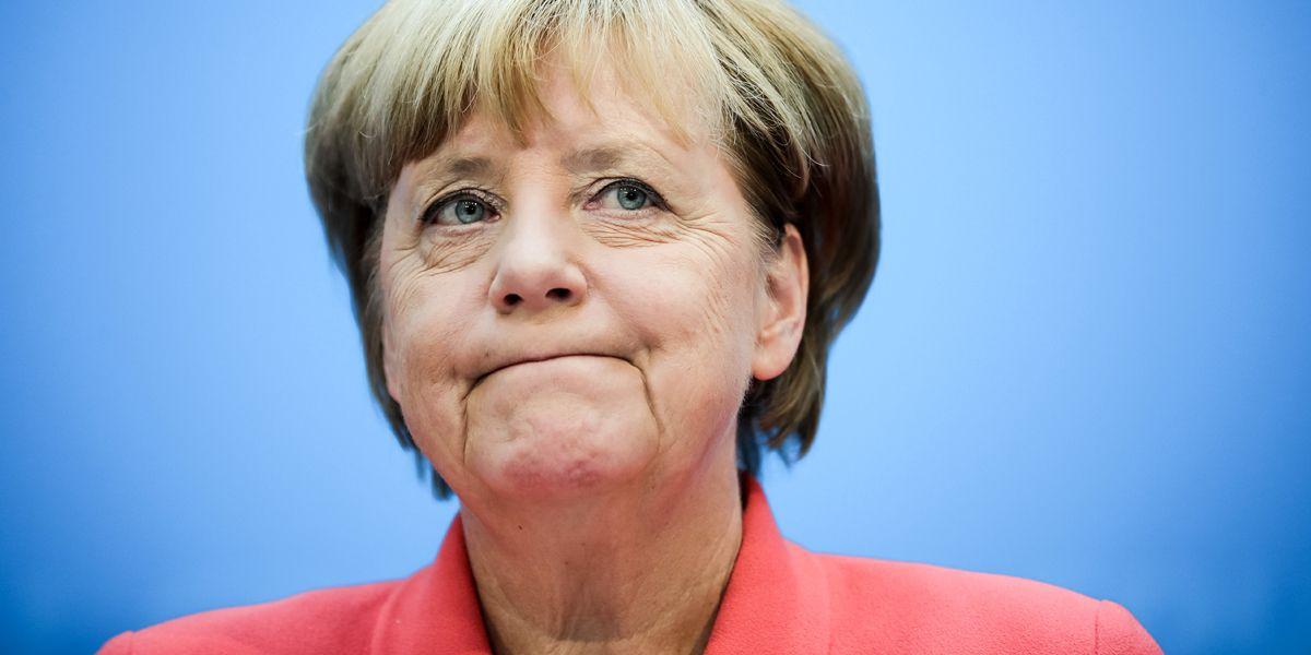 Angela Merkel Zeit Dpa