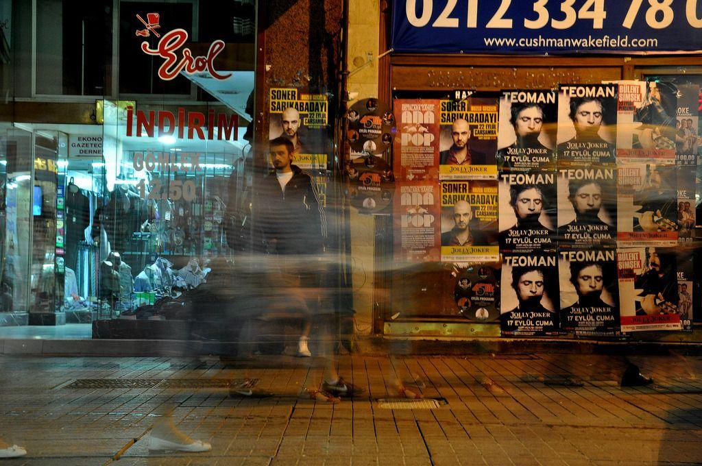 Istanbul Fussgaengerzone 2