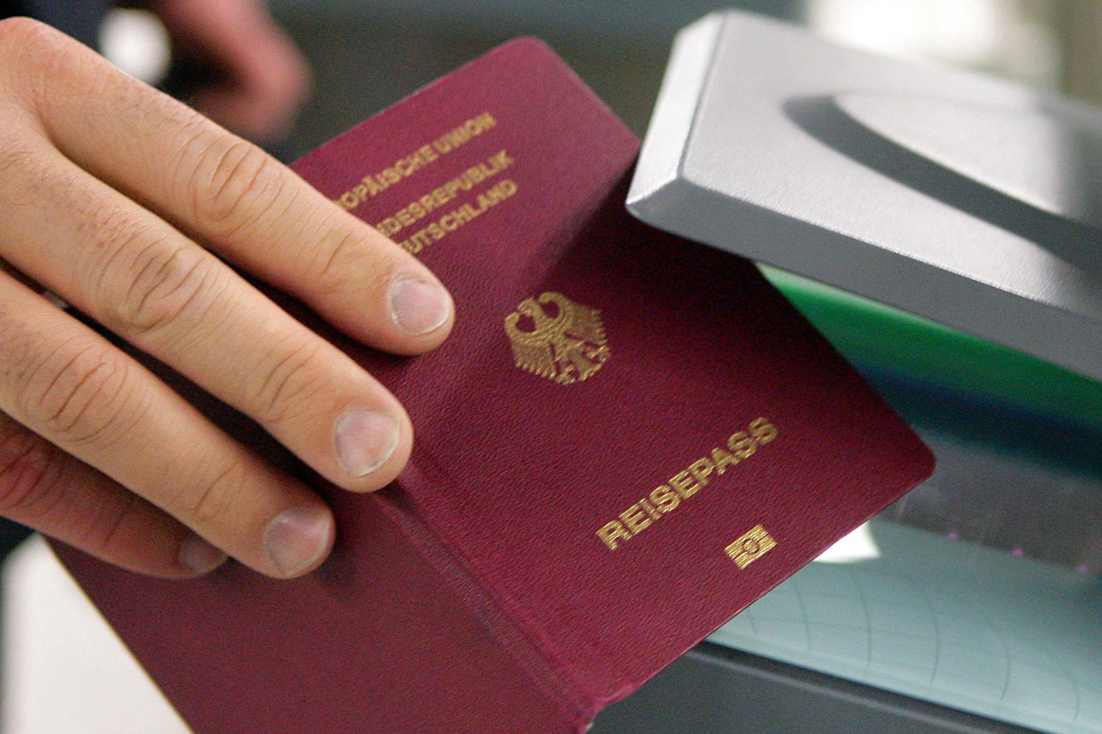 Reisepass Visum