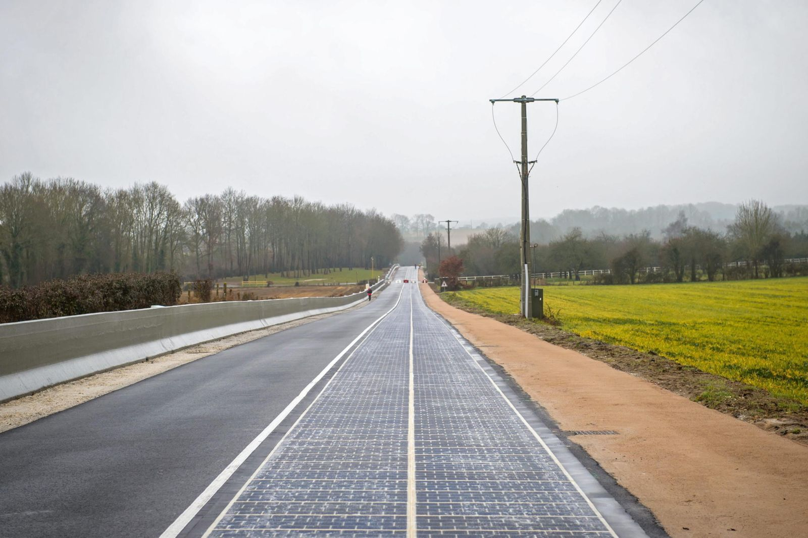 Solar Strasse Frankreich