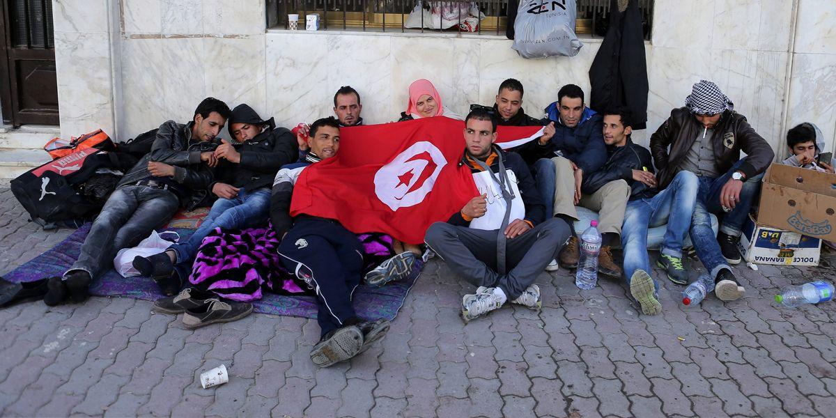 Tunesien Jugend Dpa