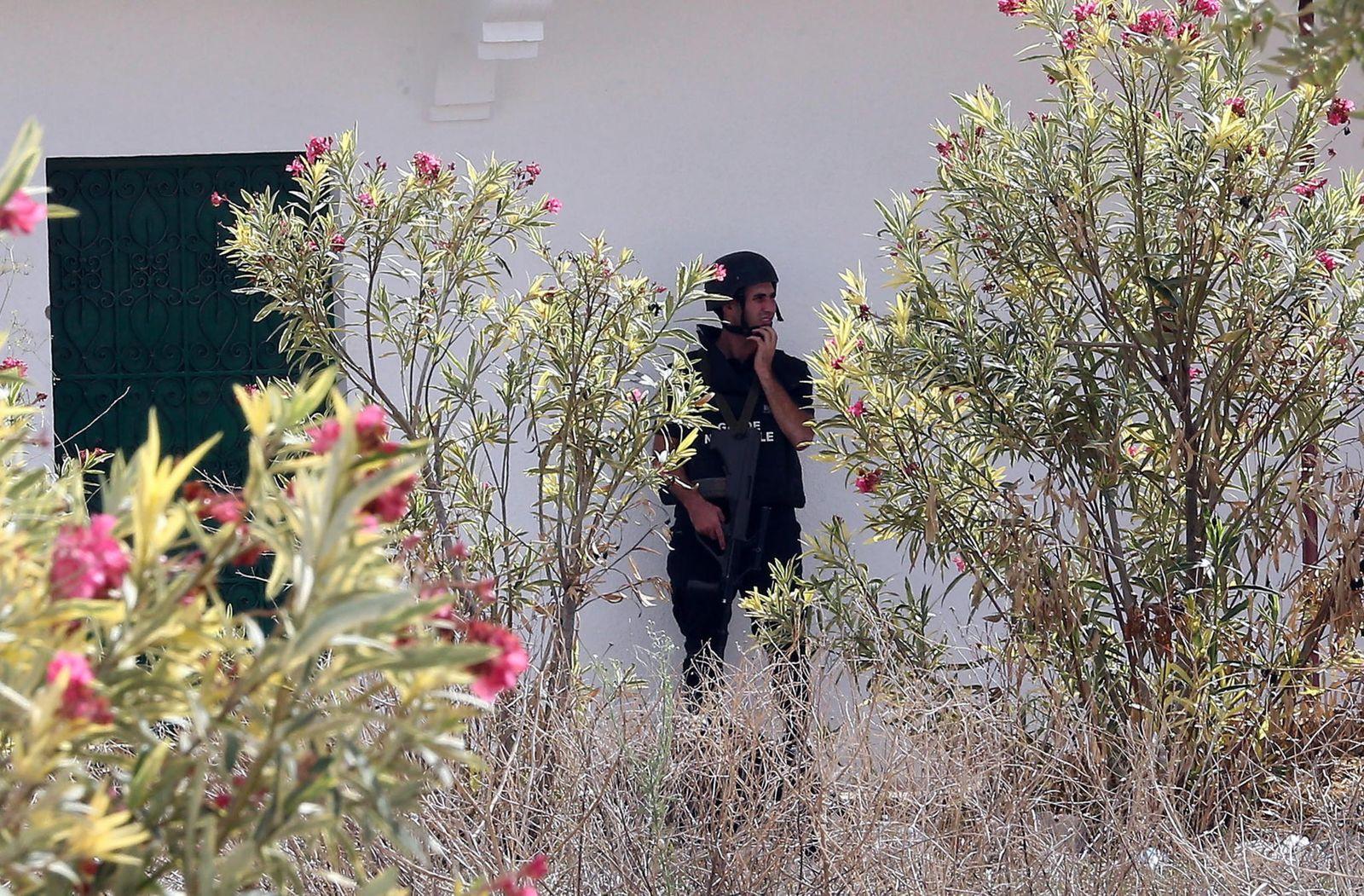 Tunesien Polizei Dpa