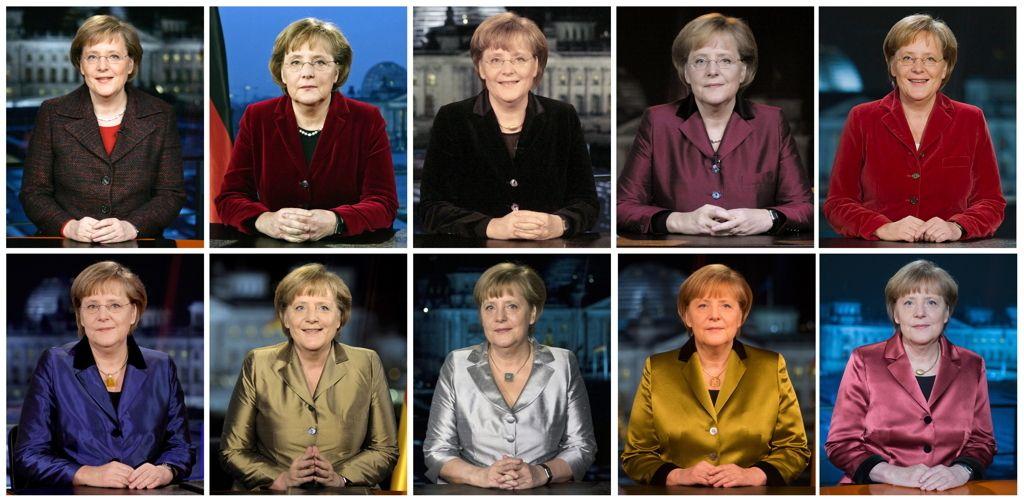 Merkel Neujahrsansprachen 10 Dpa Diverse