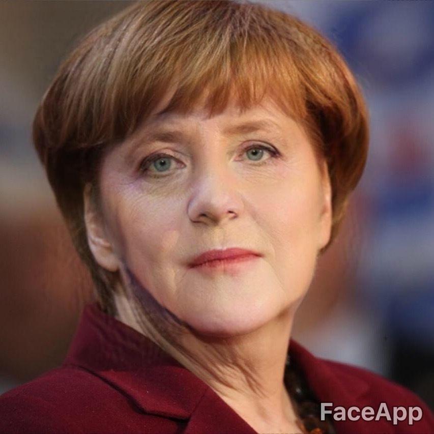 Merkel Faceapp