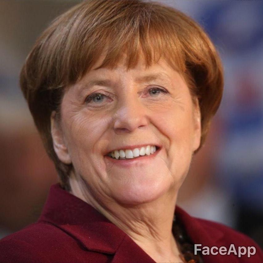 Merkel Faceapp2
