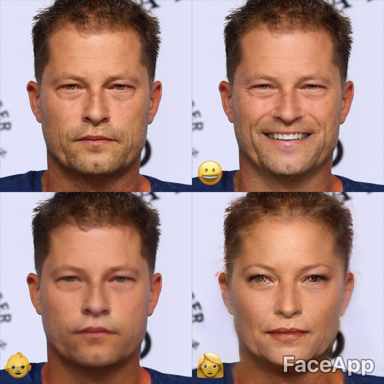 Til Schweiger Faceapp
