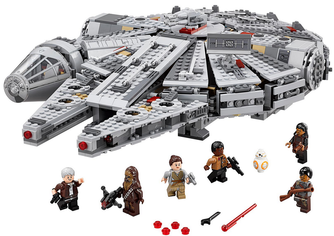 Shoppinglist Lego Falcon