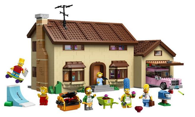 Shoppinglist Lego Simpsons
