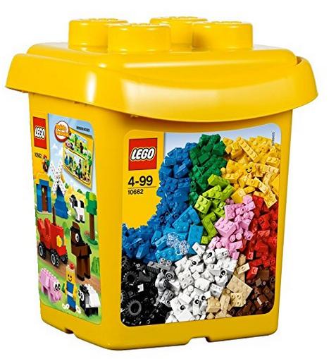 Shoppinglist Lego Eimer