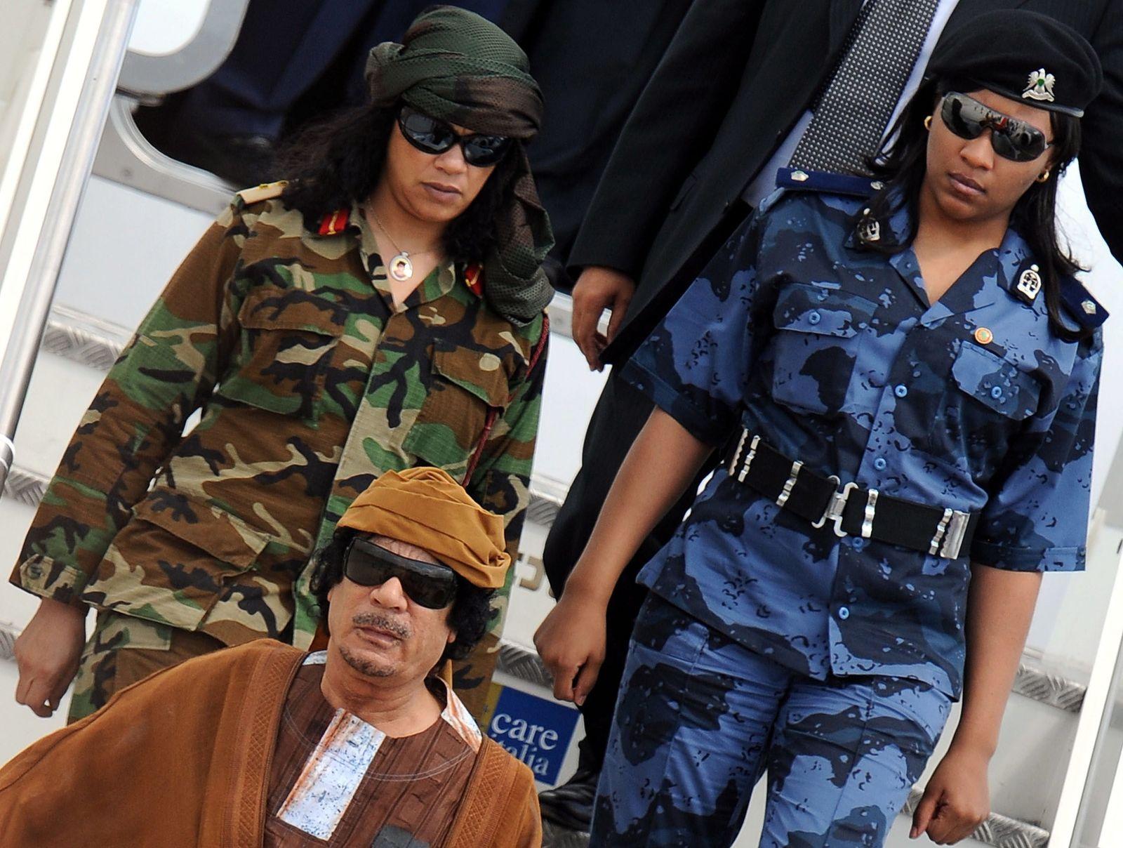 Bodyguard Frau Gaddafi