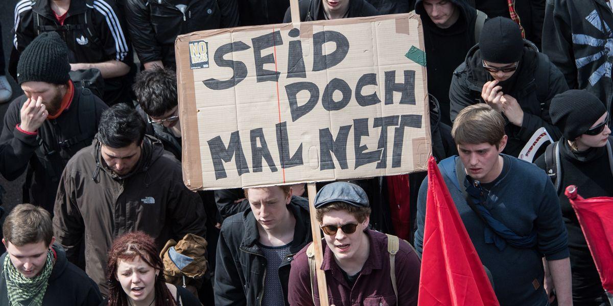 Protest Deutschland