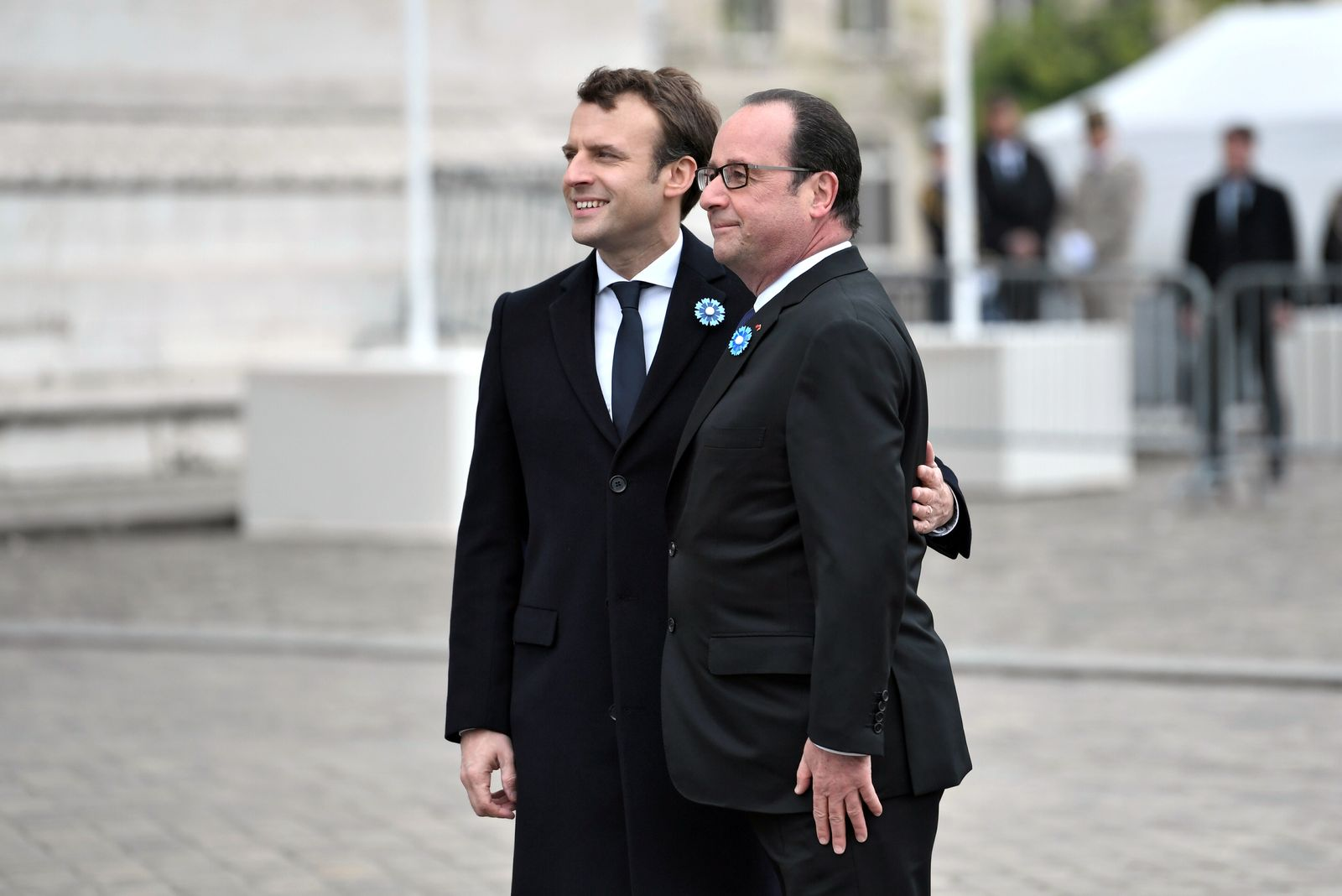 Macron Und Hollande Reuters Pool New