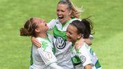 Den Frauen in Wolfsburg wurde die Siegesparty verboten – aus Rücksicht auf die Männer