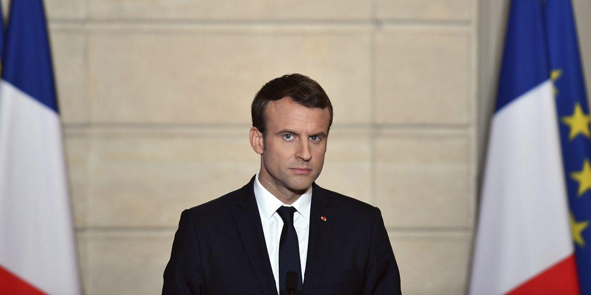 Macron Neu Wahl Dpa
