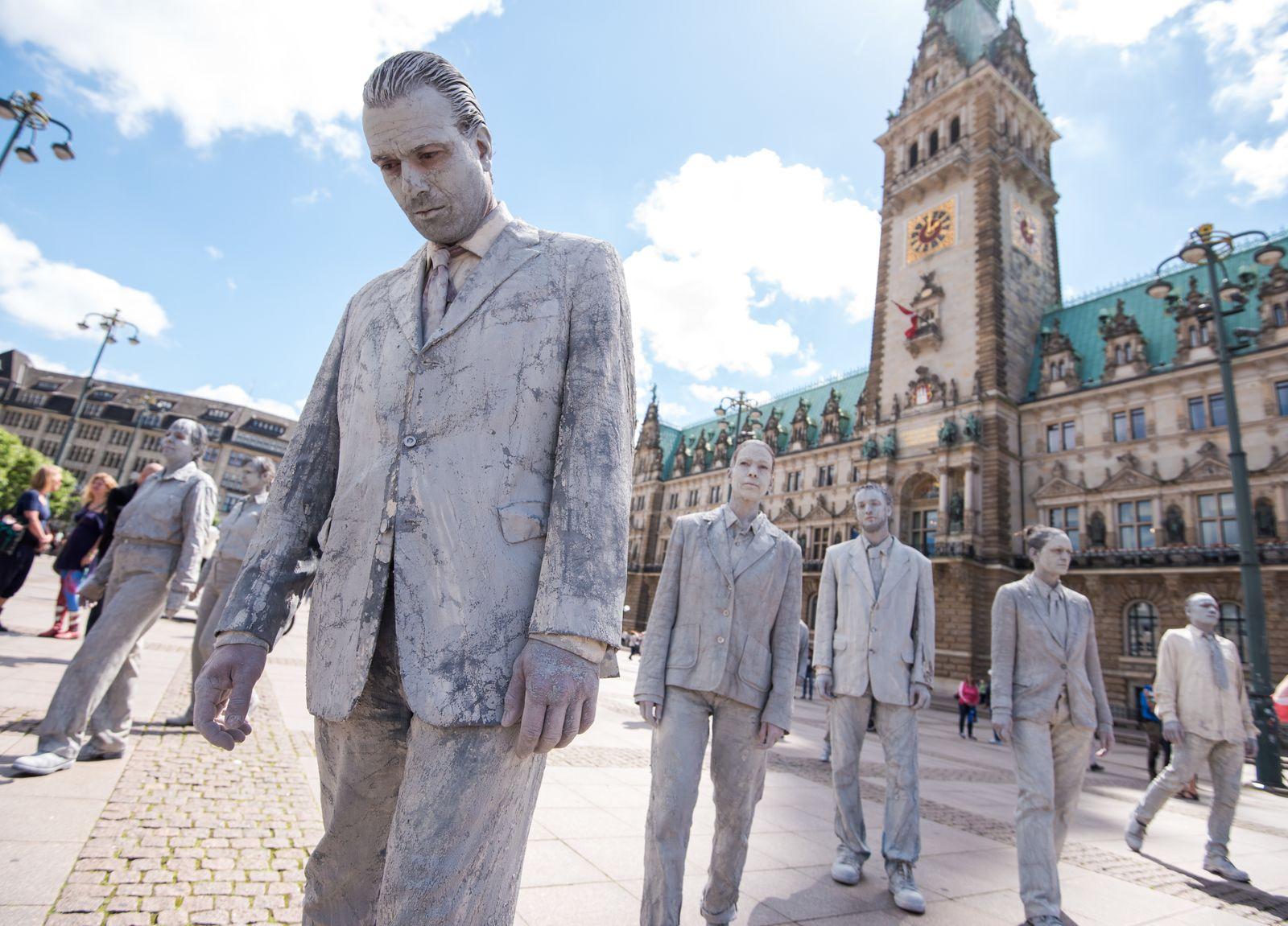 Anti G20 Zombies 1000 Gestalten
