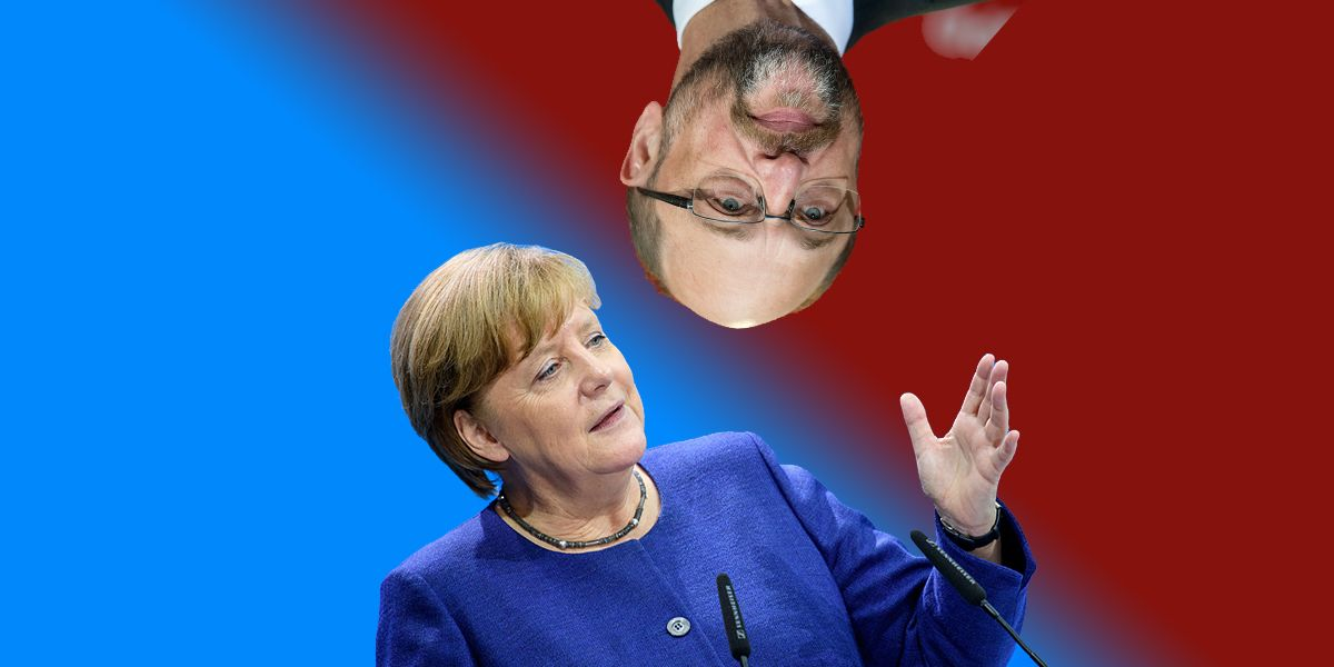 Merkel Schulz Dpa Wahlumfragen