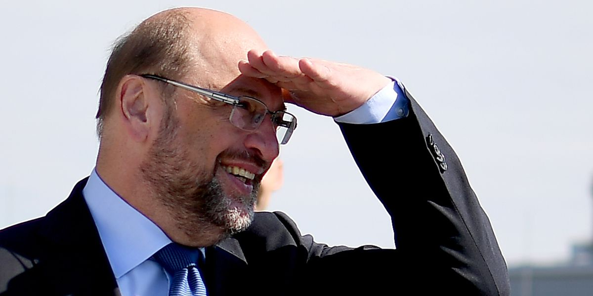 Martin Schulz Dpa Blick In Die Ferne