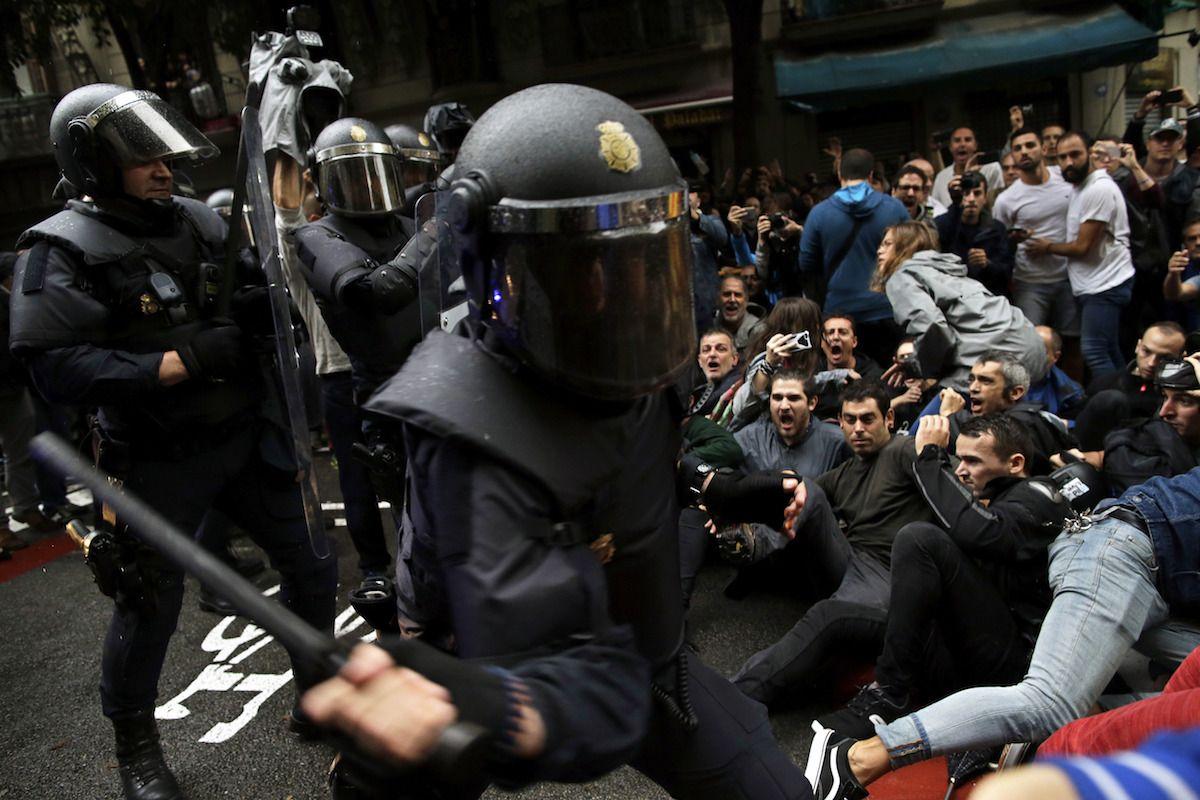Katalonien Referendum 3 Dpa