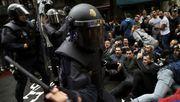 Diese 9 Videos zeigen, wie brutal die spanische Polizei gegen Katalanen vorgeht
