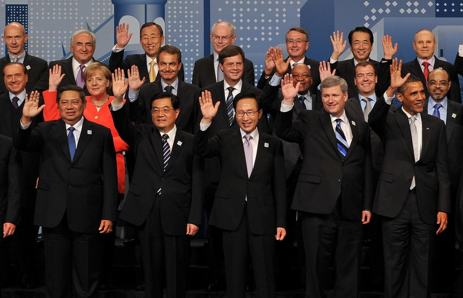 World Leaders Nur Maenner Dpa