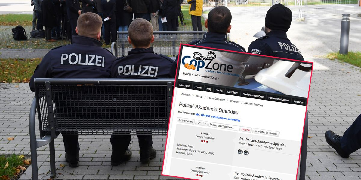 Polizeiforum Aufmacher Dpa