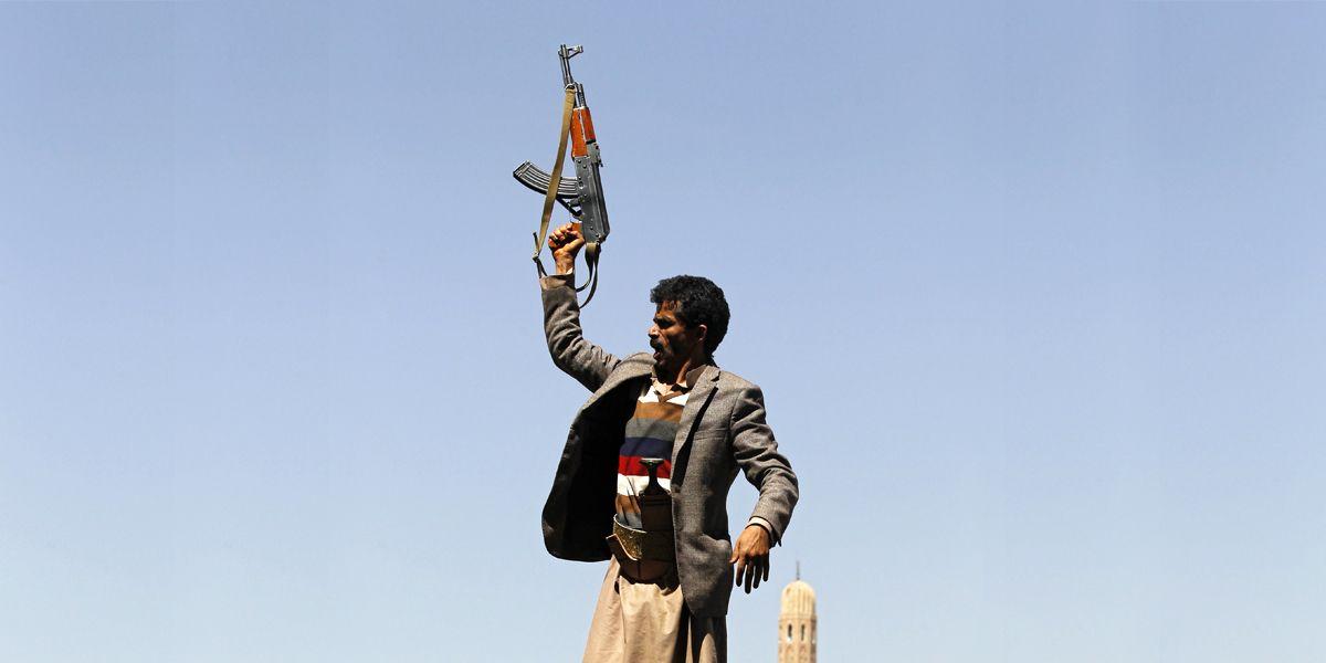 Jemen Waffen Dpa