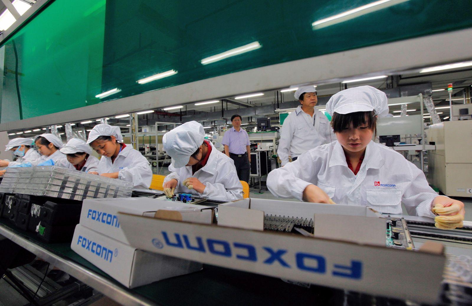 Foxconn I Phone China