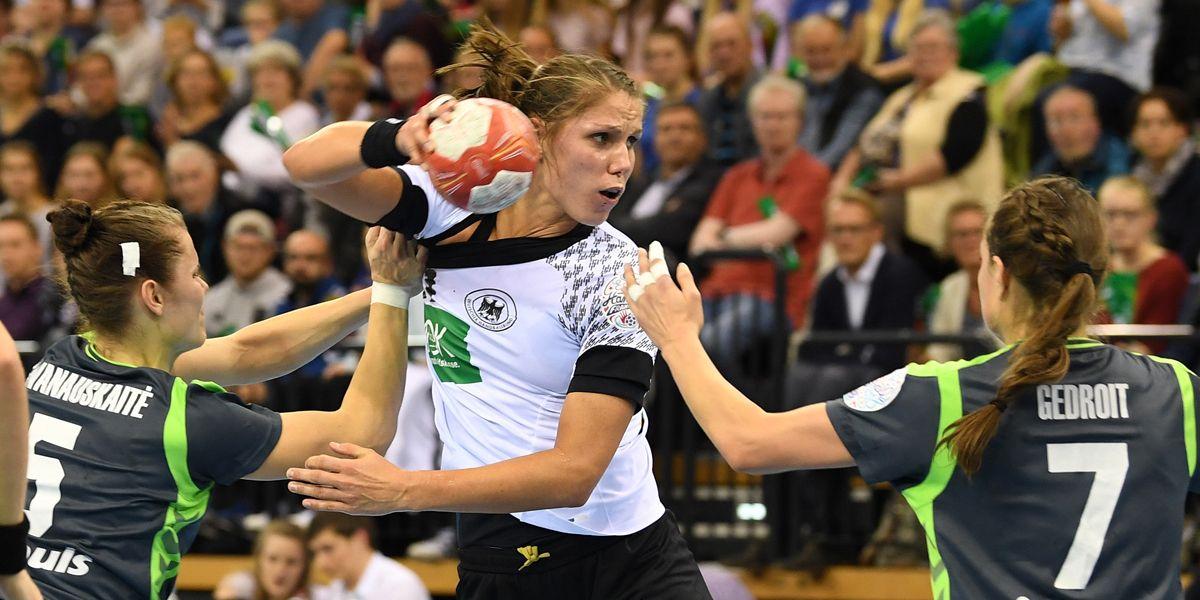 Handball Frauen Dpa